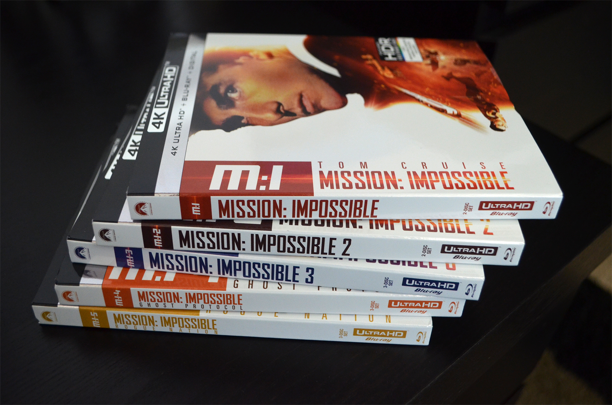 Mission Impossible Collection 4K Review