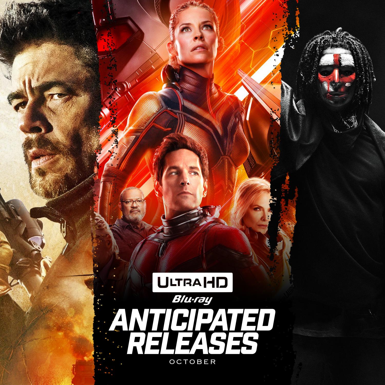 October 4K Releases