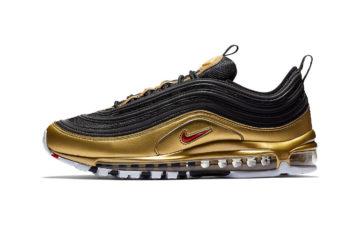 """041bc0ff575 Nike s Trio of Air Max 97 """"Metallic"""" Sneakers"""