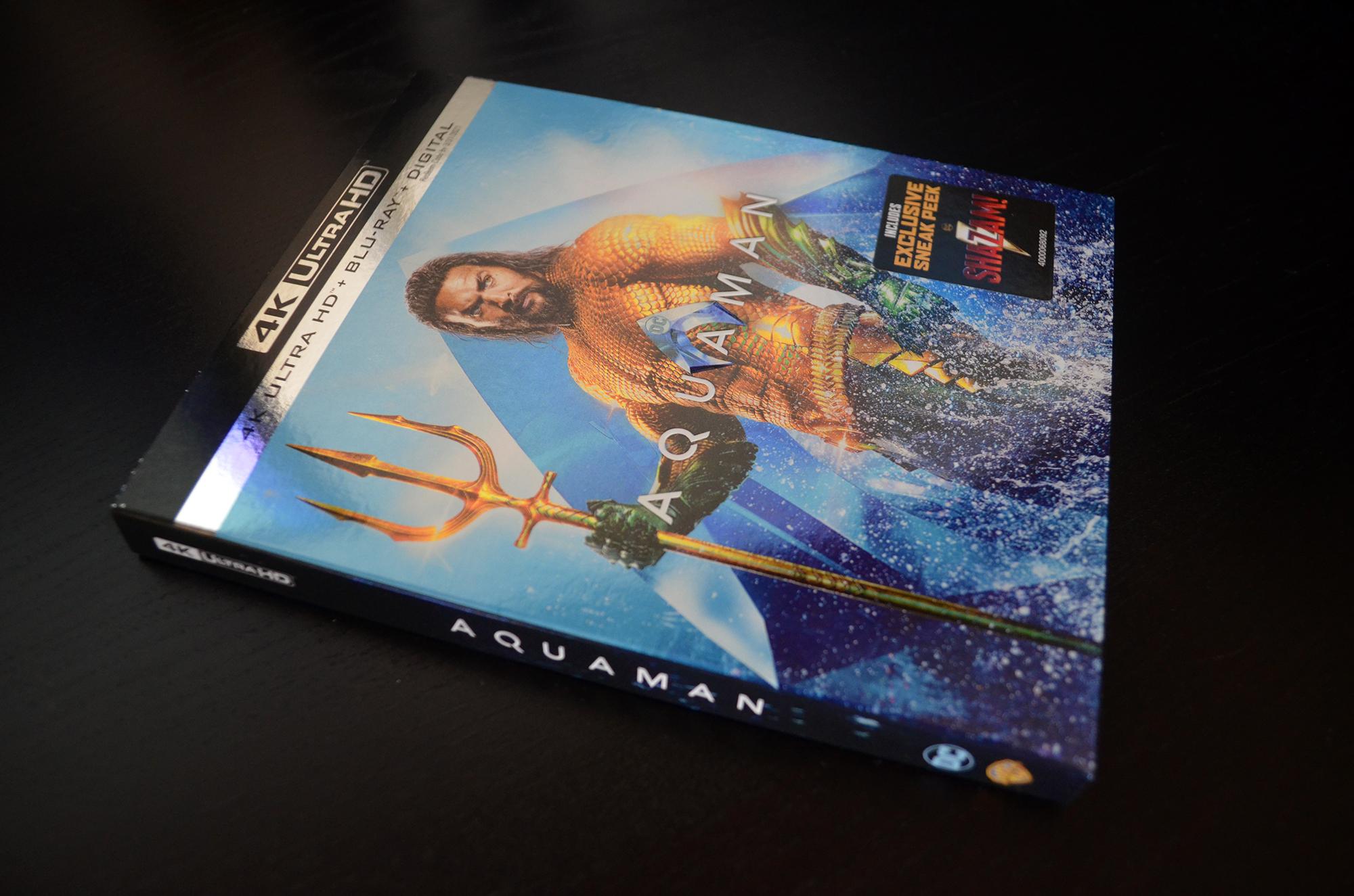 Aquaman 4K Review