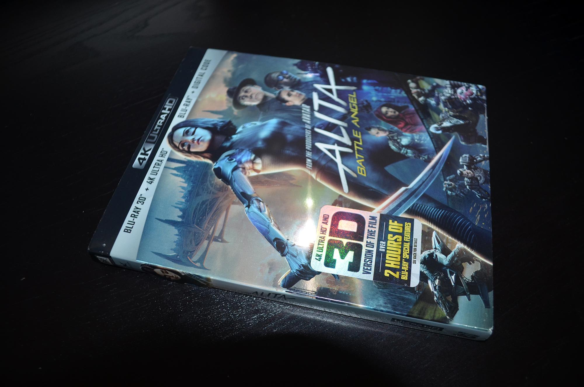 Alita Battle Angel 4K Review